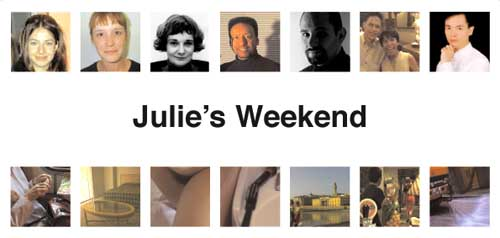 Julie's Weekend